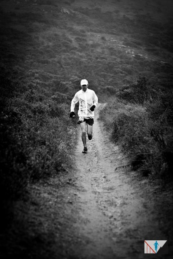 A weary runner (Brett Rivers /San Francisco Running Co)